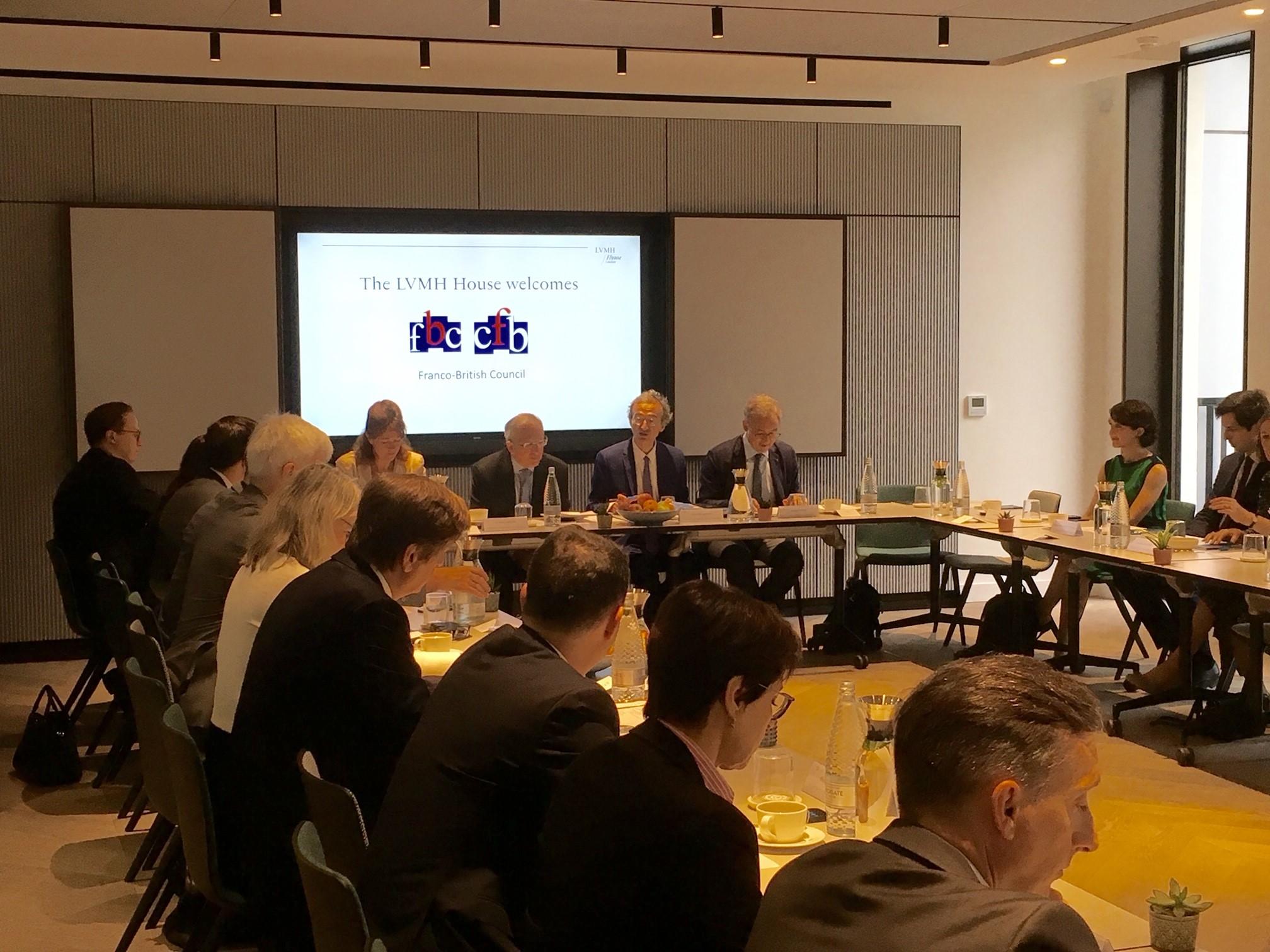 Franco-British Business Seminar / Séminaire d'entreprise franco-britannique