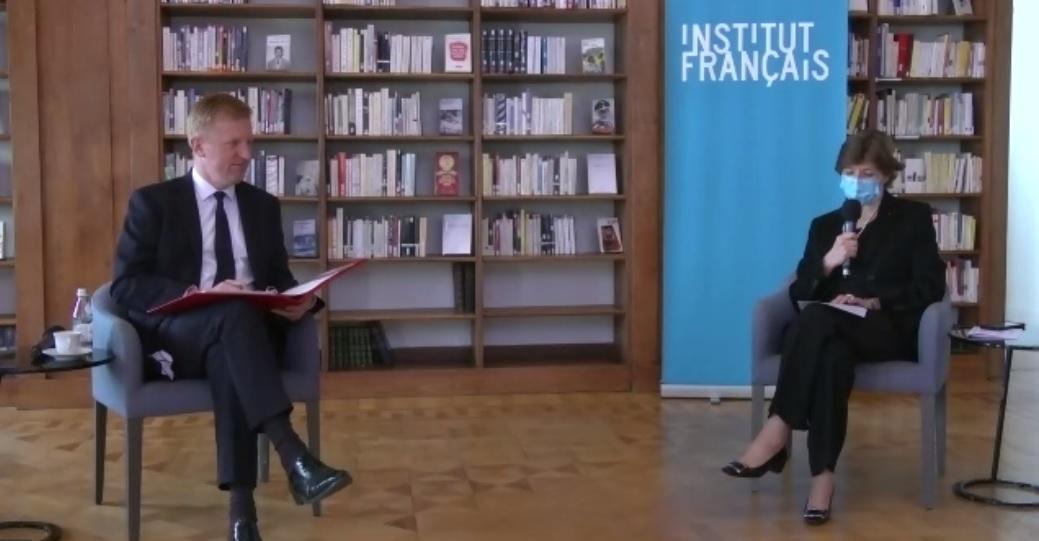 Online conversation between Catherine Colonna and Oliver Dowden / Conversation virtuelle entre Catherine Colonna et Oliver Dowden