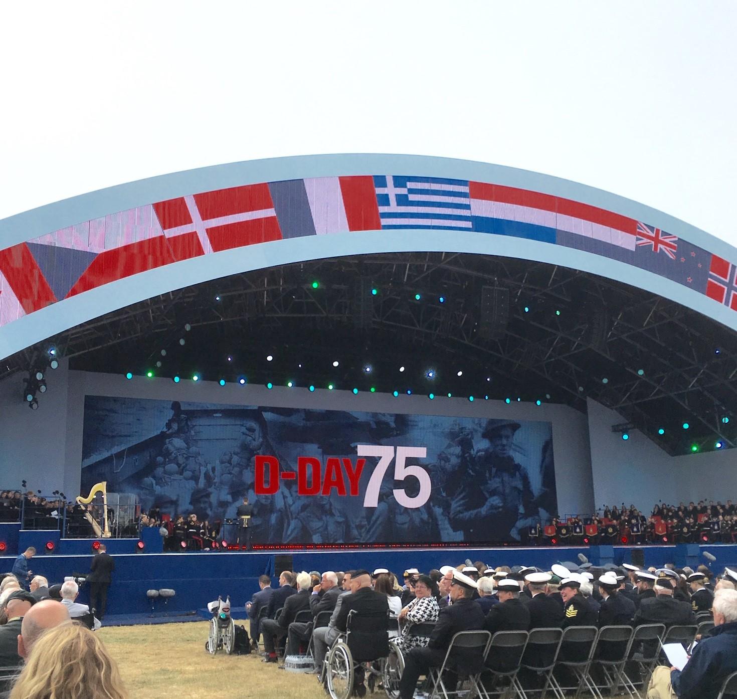 75th Anniversary of D-Day Commemorations in the UK / Commémorations du 75ème anniversaire du débarquement au Royaume-Uni
