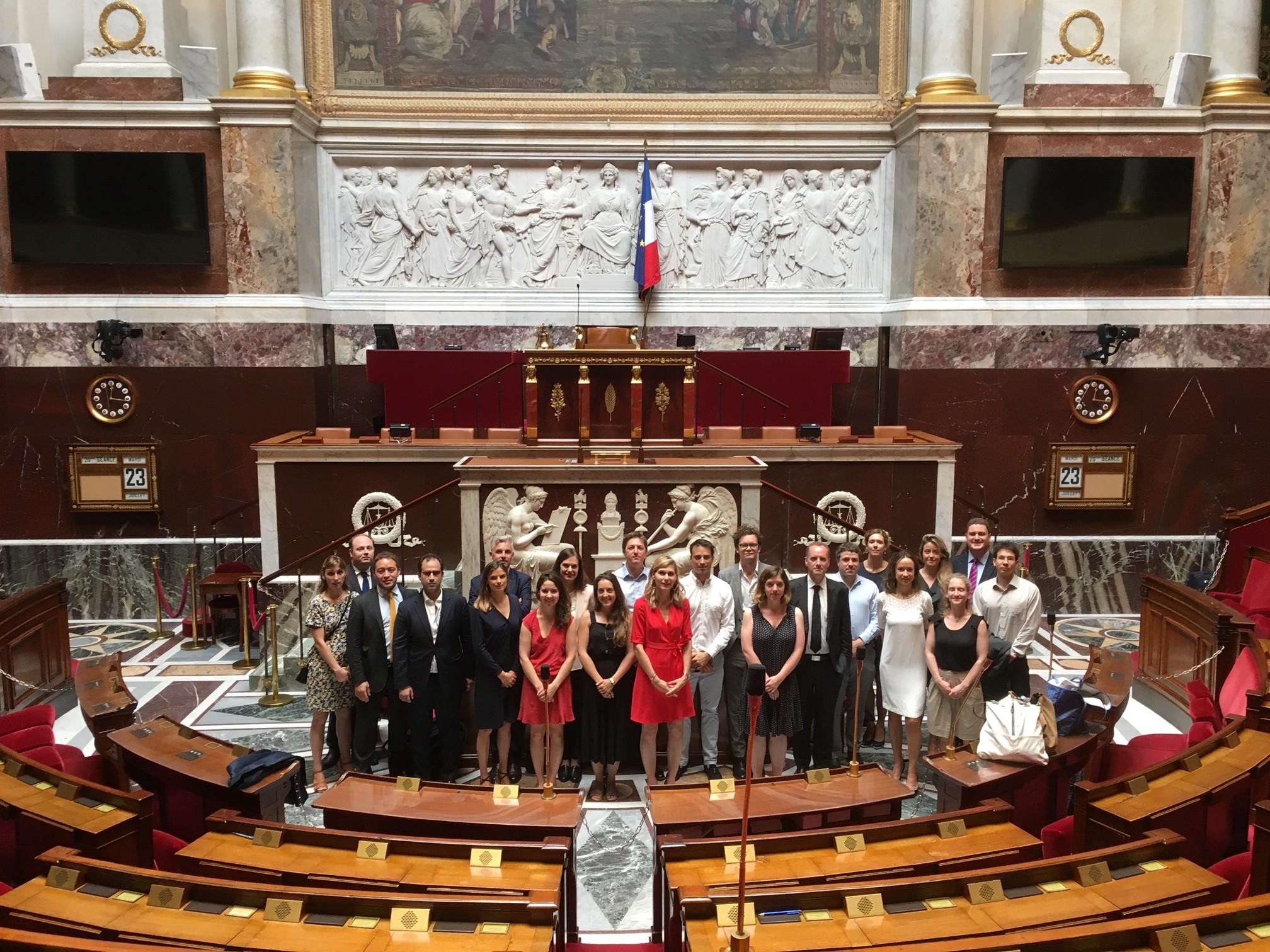 Visit to the National Assembly / Visite à l'Assemblée nationale